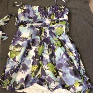 Dresses & Skirts - Purple floral dress
